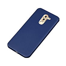 Huawei GR5 2017 Back Cover - Silicone Rubber Finish Blue
