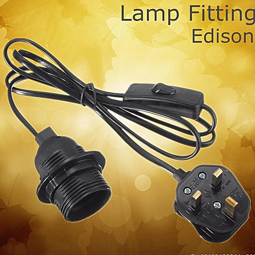 Miraculous Generic E27 E26 Edison Es Ceiling Light Holder Pendant Lamp Bulb Wiring Cloud Hisonuggs Outletorg