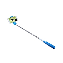 Selfie Stick Monopod Self Timer Smart Shooting Aid - Blue