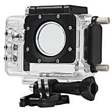 Plus Action Camera Waterproof Case Housing - Black
