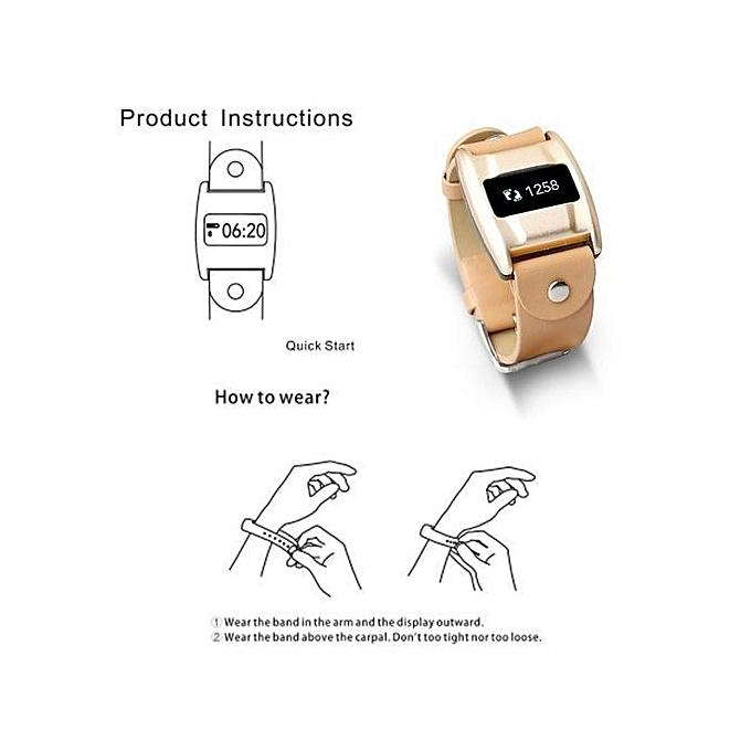 Blood Pressure/Oxygen Heart Rate Waterproof Smart Watch Bracelet Wrist Band  Lot