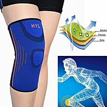 Elastic Compression Knee Support Sleeve Brace Patella Injury Arthritis Gym Sport