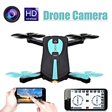Drone Camera WIFI FPV RC HD Quadcopter Altitude Pocket MINI Selfie Foldable Black
