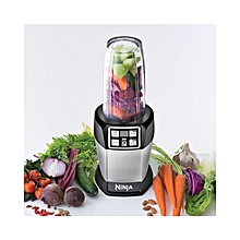 Nutri Ninja 1000W Blender with Auto-iQ - Black/Silver