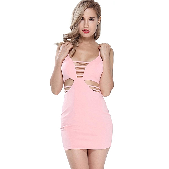105b44957 Fashion YOINS New Arrival Women Cutout Hollow Out Sleeveless Bodycon ...