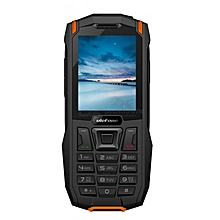 Armor Mini Waterproof Dual SIM Rugged - Black & Orange