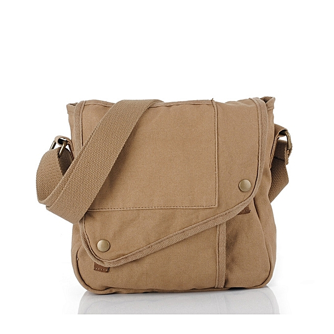 Buy Fashion Men Canvas Messenger Casual Crossboby Bag for IPad ... 310a97d521