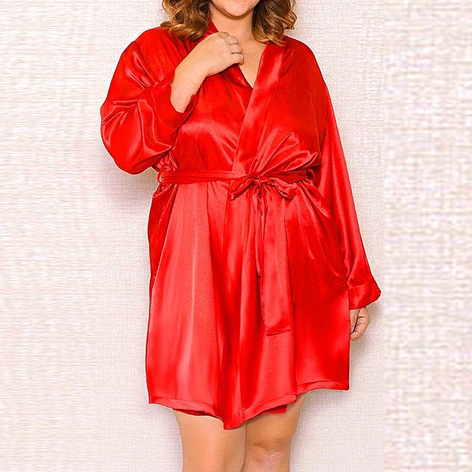 High end Sexy Lingerie Women Silk Lace Robe Dress Babydoll Nightdress  Nightgown Sleepwear 951b2ed45