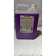 Methylated spirit 5l 4-6%