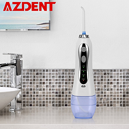 300ml Portable Cordless Oral Irrigator 3 Modes Water Dental Flosser USB  Rechargeable Battery Tooth Floss Pick 5 Jet Tips( )