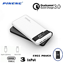 ( FREE POUCH BAG ) NEW and ready stock !!! Pineng PN-961 PN961 PN 961 POWER BANK 10000MAH QC3.0 QUICK CHARGE 3.0 POWERBANK 951 983 969 958 952 BGmall