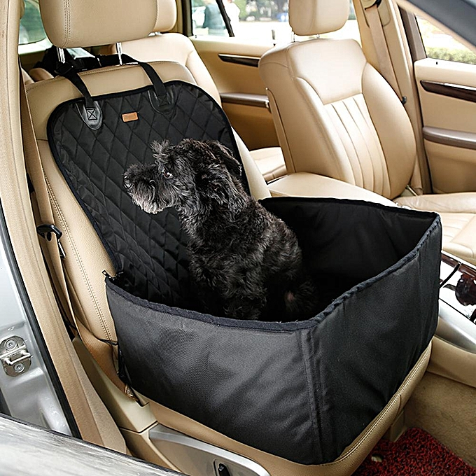 2 In 1 Waterproof Pet Booster Seat Front Cover Nonslip Rubber Backing