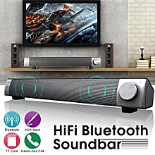 10W Wireless Bluetooth Soundbar Speaker System TV Home Theater Subwoofer Audio