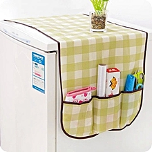 DIHE Refrigerator Storage Bag Dust Proof Cover COLORMIX