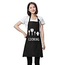 Women Men Apron Commercial Restaurant Home Bib Spun Poly Cotton Kitchen Aprons