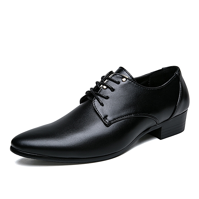 Tauntte Uk 6 105 Men Formal Shoes Business Casual Shoes Black