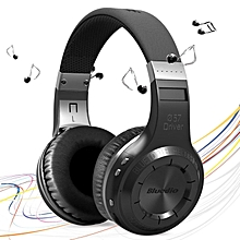 Bluedio HT H-Turbine Wireless Bluetooth Hands Free Headset Super Bass Music Headphone with Mic Line-in Socket for Smartphones Computer and Tablet PC JY-M