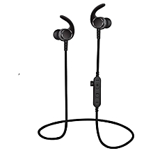 Noise Cancelling Bluetooth Wireless Sports Headset With TF Slot-Black