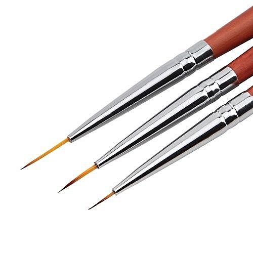 Buy Qibest Bluerdream 3pcs Uv Gel Acrylic Nail Art Brush Set Art