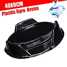 Black Gyro Fighter Stadium Battle Attack Combat Arena Top Plate Toys Tool