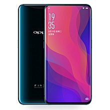 OPPO Find X, 8GB+128GB, Not Support Google Play, Dual Back Cameras, Face ID, 6.42 inch Curved Edge ColorOS 5.1 (Android 8.1) Qualcomm Snapdragon 845 Octa Core up to 2.8GHz, Network: 4G(Blue)