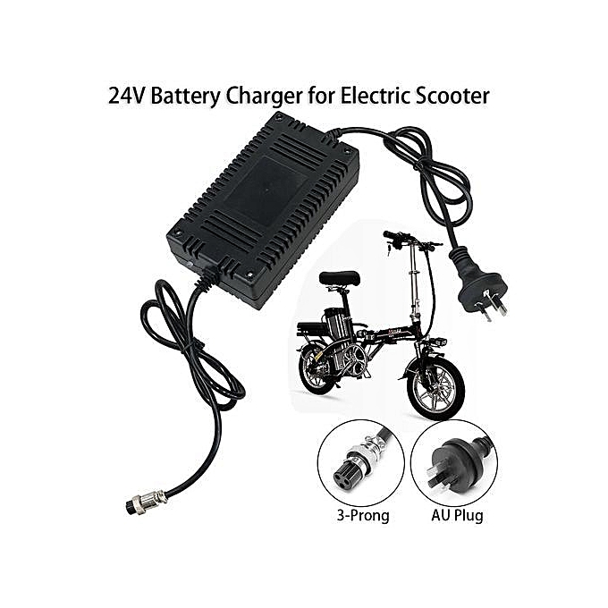 Generic 24v 1 6 2a Smart Battery Charger For Electric Scooter Atv