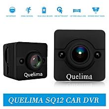 【Flash Deal】Quelima SQ12 Mini 1080P FHD DVR Camera 155 Degree FOV Loop-cycle Recording Night Vision