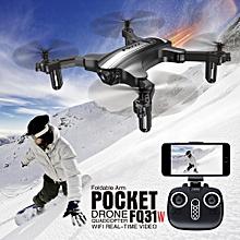 FQ31W 0.3MP Camera Wifi FPV Mini Foldable Drone Altitude Hold G-sensor Pocket RC Quadcopter