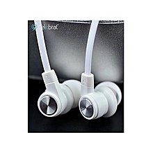 S70 Earphones- White