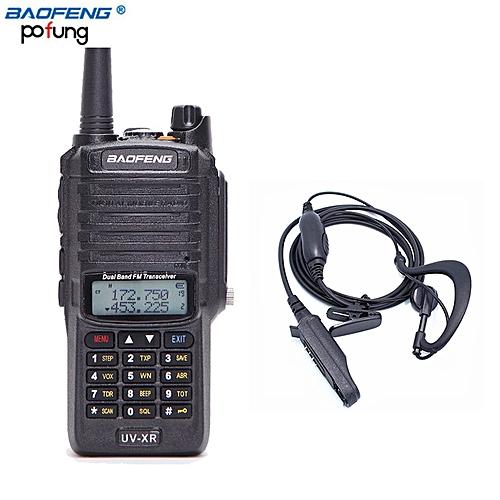 2018 UV-XR Waterproof 10W High Power Walkie Talkie CB Ham Handheld radio  portable 10KM Long Range Two Way Radio GSJAW
