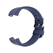 Replacement Silicone Rubber Band Strap Wristband Bracelet Waterproof Durable dark blue