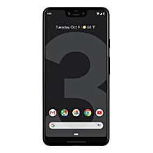 Pixel 3 XL 6.3-Inch (4GB, 64GB ROM), 12.2MP + 8MP 4G Smartphone - Just Black