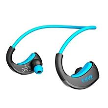 Earphone for Sport, G06 IPX5 Waterproof Bluetooth Wireless Earphone Sports Running Headphone(Blue)