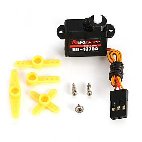 Power HD HD-1370A Mini Steering Digital Gear Servo for?RC?Car Helicopter  black