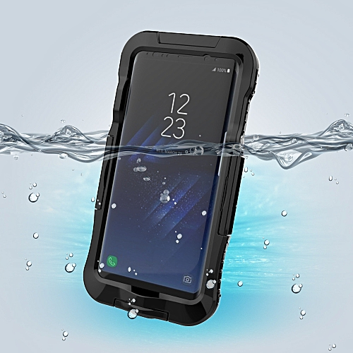 more photos 04f53 29abf Waterproof Protector Cover Case Skin For Samsung Galaxy S8 Plus 6.2 inch BK