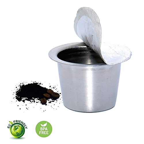Generic Stainless Steel Refillable Coffee Capsules Refilling