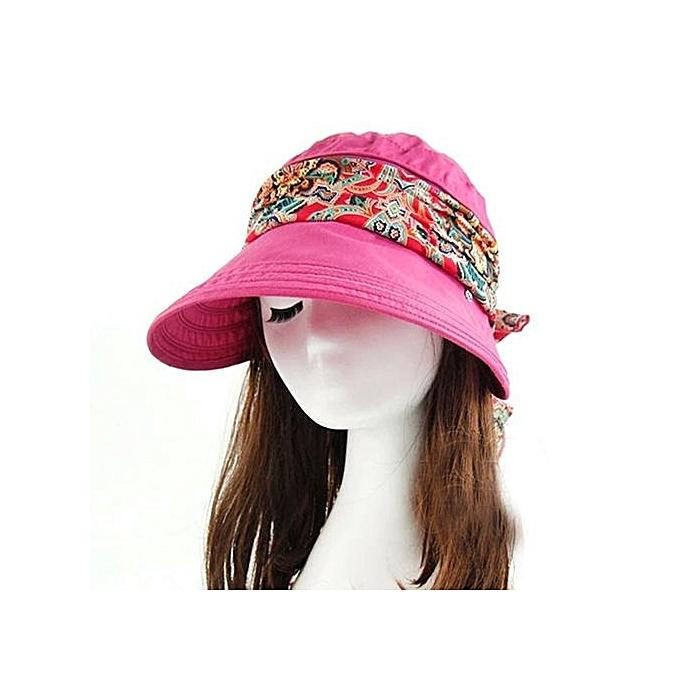 Buy Eissely Summer Sun Multi-purpose Folding Sun Hat Empty Top Hat ... 7128b695e8e