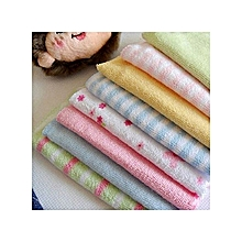 8Pcs Assorted colors Infant Newborn Bath Towel,wash cloth
