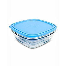 Lys Square Stackable Bowl - 20cm - Clear