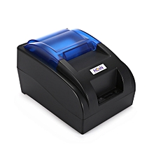 HOP-H58 USB/Bluetooth Thermal Cash Receipt Printer POS Printing Instrument - Black