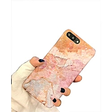 Gold Stamping Marble Grain Phone Case For IPhone 6/6s -Pink