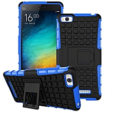 Mooncase Case For Xiaomi Mi 4i Detachable 2 In 1 Shockproof Tough Rugged Prevent Slipping Dual-Layer Case Cover With Built-in Kickstand Blue