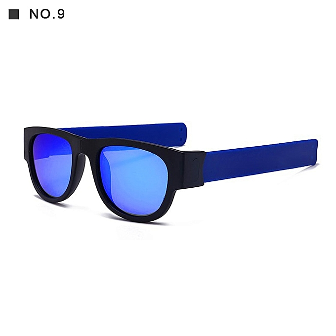 1f84d94d4d94 2019 New Circle Round Sunglasses Polarized For Men and Women Outdoor Fold  Sun Glasses Portable With