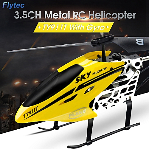 Buy Flytec Ty911t 3 5ch Metal Rc Helicopter With Gyroscope For Kids