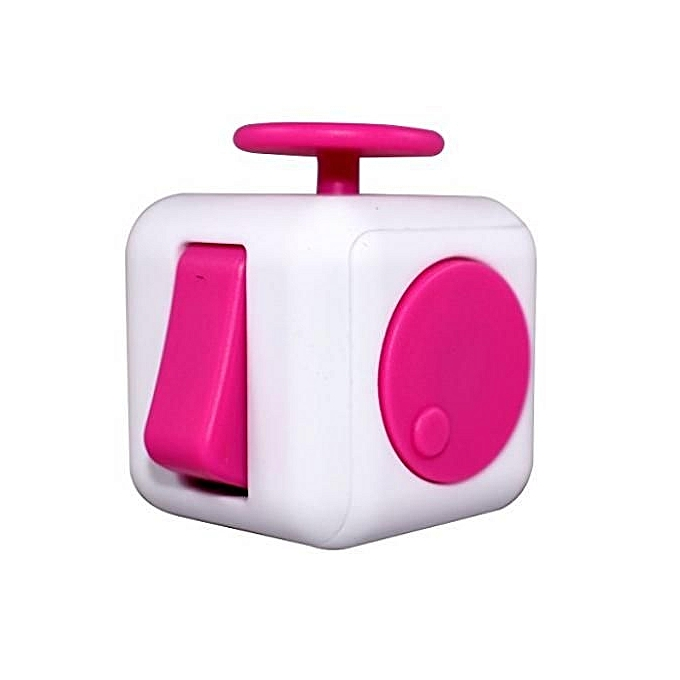 Buy Generic Fidget Cube Stress Relief Anxiety 6side Dice Toys Gift
