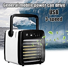 Portable Mini Air Cooler Conditioner Fan USB Humidifier Purifying Air Home Desk