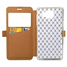 Leather Lattice Diamond Full-Protect Case Cover For Samsung Galaxy A5 A510