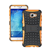 "For Galaxy [A9 2016] Case, Hard PC+Soft TPU Shockproof Tough Dual Layer Cover Shell For 6.0"" Samsung A900, Orange"