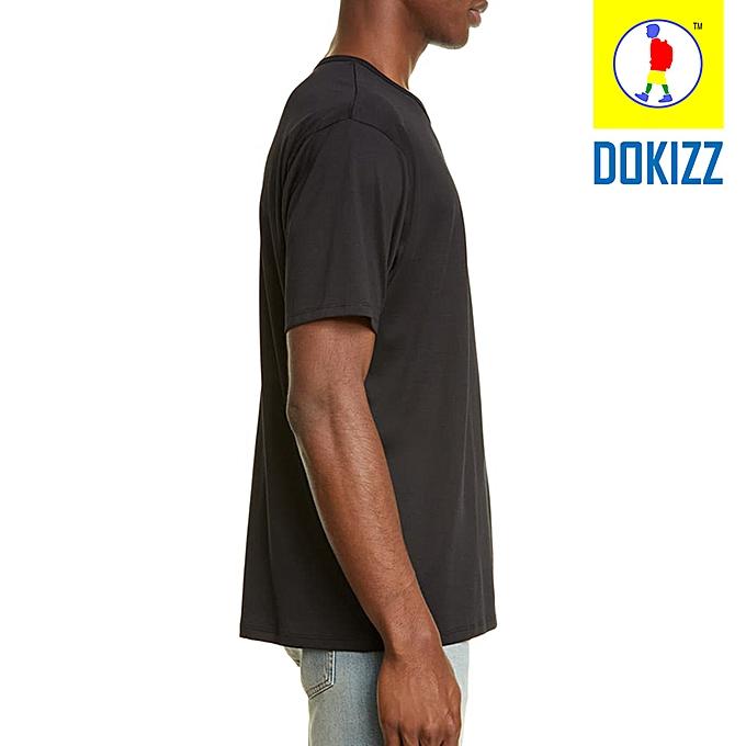 b530188e Generic T-shirt Black Plain @ Best Price Online | Jumia Kenya
