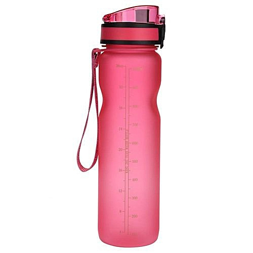 Justgogo 1000ml Sports Eco-friendy Water Bottle For Cycling Mountaineering  Hiking